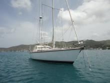 Super Maramu 2000 : At anchor